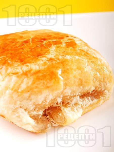 Гъбени бутерки с топено сирене - снимка на рецептата